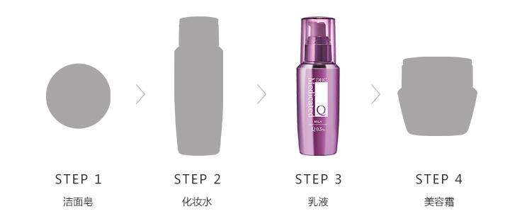辅酶精萃赋活化妆水使用步骤
